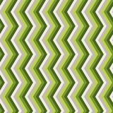 Zigzag green seamless pattern Stock Images