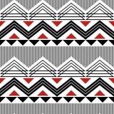 Zigzag, lijnen, driehoeken naadloos modern geometrisch patroon stock illustratie