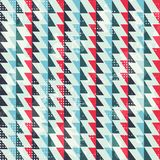 Zigzag lines seamless pattern Royalty Free Stock Photos