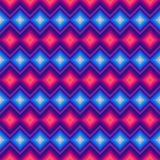 Zigzag moderne et losange en cristal sans couture Image libre de droits