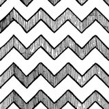 Zigzag parallel lines Stock Photography