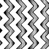 Zigzag parallel lines Royalty Free Stock Photography
