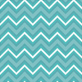Zigzag pattern in light blue Stock Photography