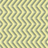 Zigzag pattern with oval models. Vertical stock illustration