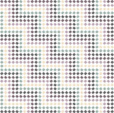 Zigzag pattern in steps - color pastel Stock Image