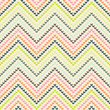 Zigzag pattern in warm color Stock Images