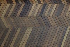 Zigzag pattern wooden background Royalty Free Stock Image
