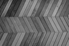Zigzag pattern wooden background Stock Image