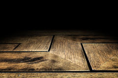 Zigzag Plank wood floor texture background for display your prod Royalty Free Stock Image