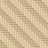 Zigzag rayé diagonal de rétro vert de pli Photo stock