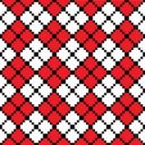 Zigzag-reticolo Fotografie Stock