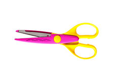 Zigzag scissors Stock Image