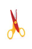 Zigzag Scissors Stock Photography