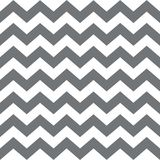 Zigzag seamless pattern. Classic traditional geometric ornament.big grey stripes on a white background. Seamless monochrome wavy stripes background. Vector Royalty Free Stock Photos