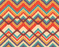 Zigzag seamless pattern Stock Images