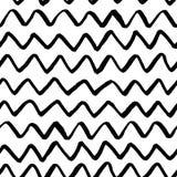 Zigzag seamless pattern vector stock illustration