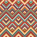 Zigzag seamless pattern Royalty Free Stock Photos