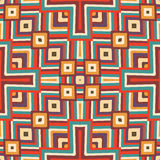 Zigzag seamless pattern Royalty Free Stock Photography