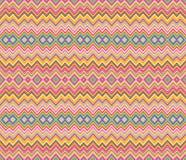 Zigzag seamless pattern Stock Image