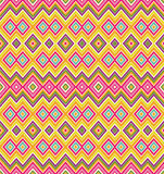 Zigzag seamless pattern Stock Photo