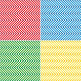 Zigzag seamless vector texture background Stock Photo