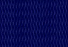 Zigzag senza cuciture del modello delle frecce su fondo blu illustrazione di stock