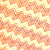 Zigzag striped background colorful in warm colors stock illustration