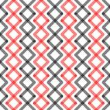 Zigzag Stripes Seamless Pattern Background stock illustration