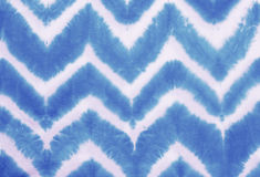 Zigzag tie dyed pattern abstract background. Stock Image