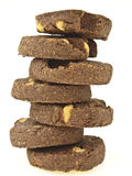 Zigzag tower cookie Stock Photography