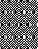 Zigzag Vector Naadloos Patroon Royalty-vrije Stock Afbeelding