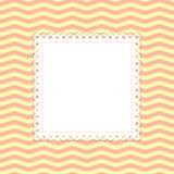 Zigzag vectormalplaatje Stock Afbeeldingen