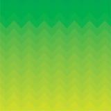 Zigzag vert de fond Photo libre de droits