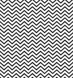 Zigzag zwart-wit naadloos patroon Geometrische Achtergrond Drukdoek, etiket, banner, dekking, kaart, website, Web stock illustratie