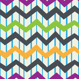 Zigzagpatroon Royalty-vrije Stock Afbeeldingen