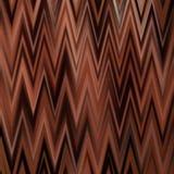 Zigzags de chocolat Images stock