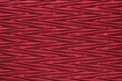Zigzags rouges soyeux Images stock