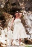 Zij maakt een mooie bruid Stock Foto's