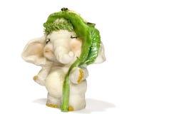 Zij-olifant stock afbeelding