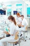 Zij willen zijn tandartsen stock afbeelding