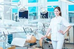 Zij zal een groot tandarts maken Royalty-vrije Stock Foto's