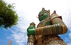 Zijaanzicht van groene reus Royalty-vrije Stock Afbeeldingen