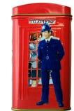 Zijaanzicht van oude Engelse piggy-bank Royalty-vrije Stock Afbeelding