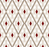 Zijde geometrisch patroon Stock Fotografie