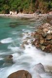 Zijdeachtig water stock foto