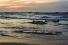 Zijdeachtige kustlijn Royalty-vrije Stock Foto