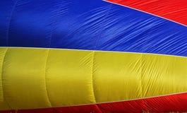 Zijdelings blauwe geel Stock Foto