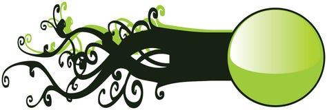 Zijdelings Interesserende Knoop Eco Royalty-vrije Illustratie