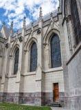 Zijgevel van de Basiliek van Quito Stock Fotografie