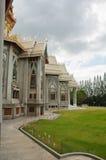 Zijgevel van tempel Royalty-vrije Stock Afbeeldingen